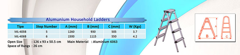 Aluminium-Household-Ladders