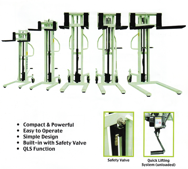 Hydraulic-Manual-Stacker