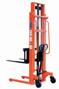 jual hand stacker semi electric