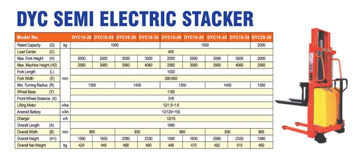 DYC-Semi-Electric-Stacker