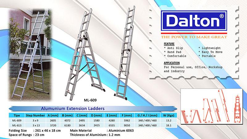 Aluminium-Extension-ladders