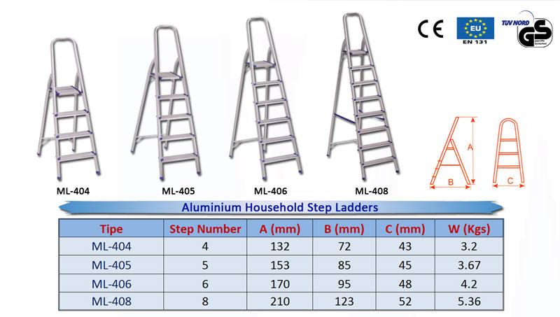 Aluminium-Household-Step-La