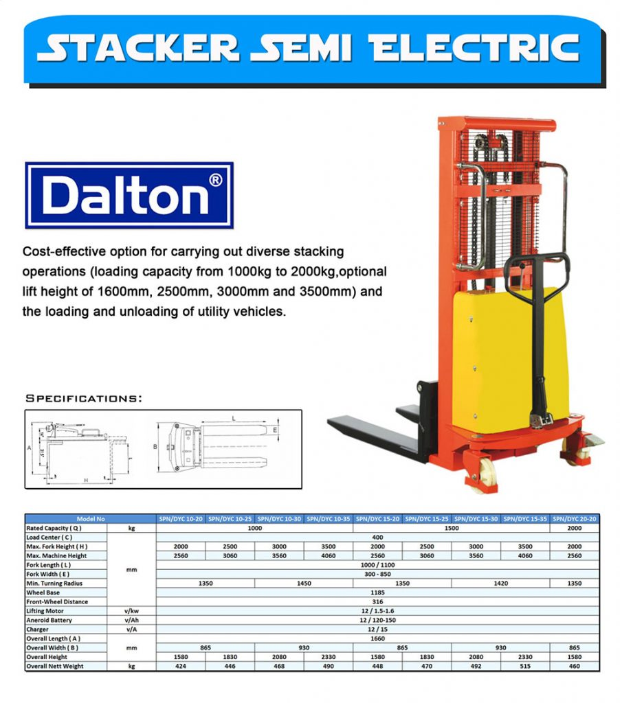 Stacker-Semi-Electric-Dalton